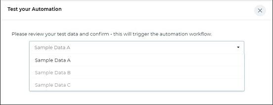 test automation sheet