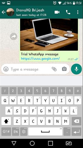Whatsapp shot