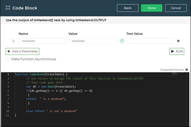 codeblock constructor