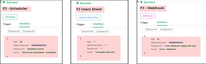 workflows analysis