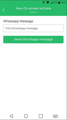 whatsapp send