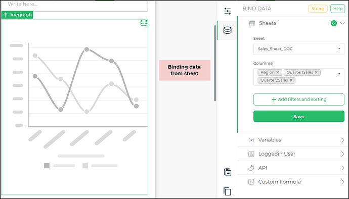 binding data