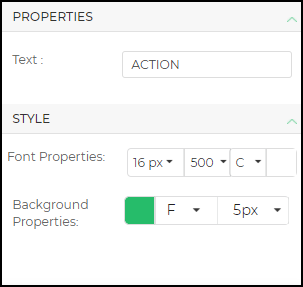 action button properties