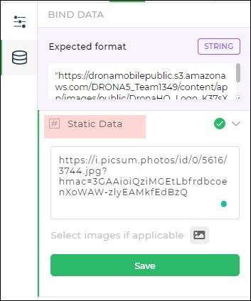 image control bind data