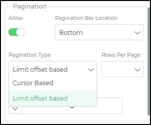 pagination types